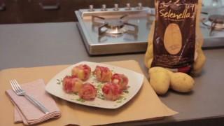 Bocconcini di patate Selenella con formaggio e pancetta
