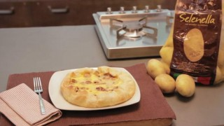 Torta salata di patate Selenella e porri
