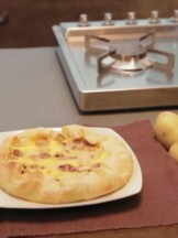 torta salata di patate Selenella e porri Sale&Pepe