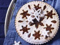 Crostata ai marroni con fiocchi di neve ricetta Sale&Pepe