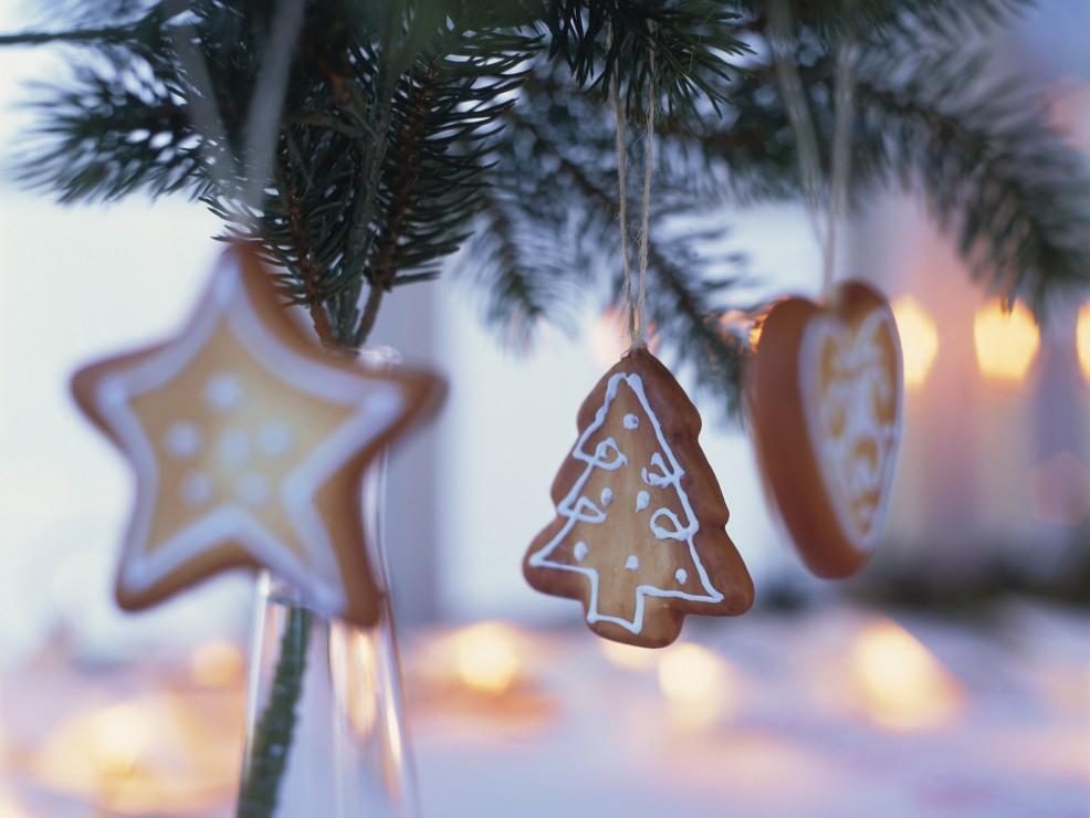 Bastano un panetto di pasta frolla e un poco di glassa per realizzare biscotti ornamentali dai disegni delicati