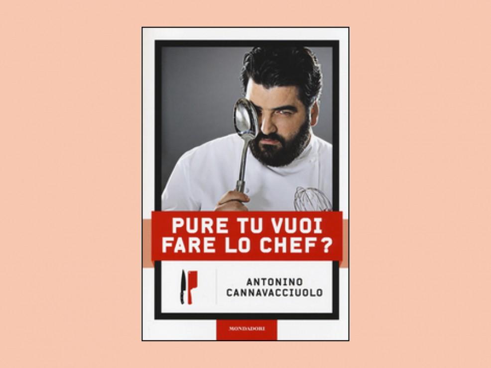 """Per l'ex che ancora """"Veni a cena che ti sorprendo"""". Pure tu vuoi fare lo chef? di Anotnino Cannavacciuolo, Mondadori Electa Ed."""