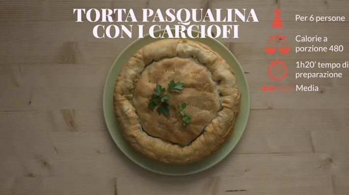 Video Ricetta Torta Pasqualina Con I Carciofi Salepepe