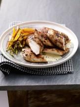 petto di pollo in salsa con carote arrostite Sale&Pepe ricetta