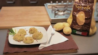 Polpettine patate Selenella e zucchine