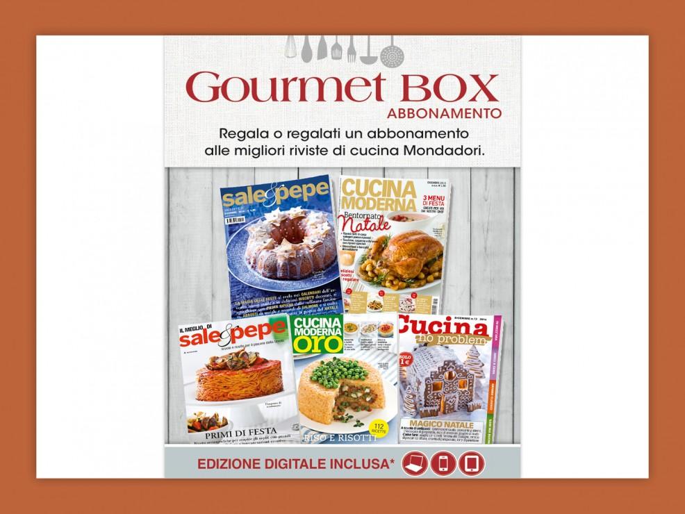 Gourmet Box abbonamenti Mondadori