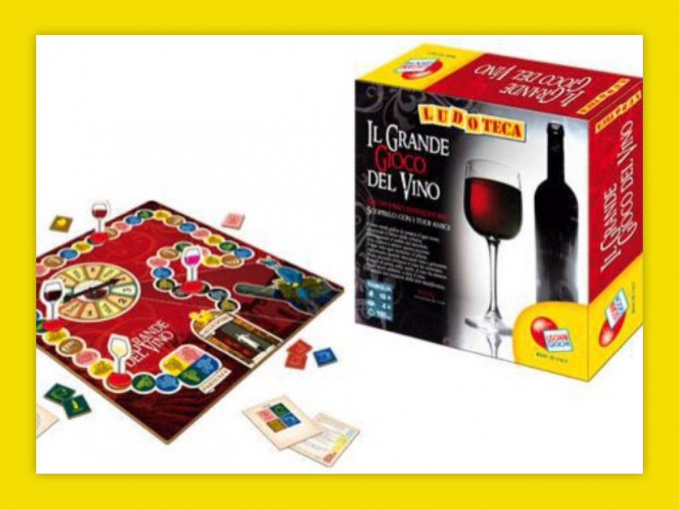 Il Grande Gioco del Vino della collana Ludoteca di Lisciani Giochi