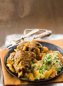 Bâghâli Polou Ba Goshte Bareh - Riso con le fave e carne d'agnello