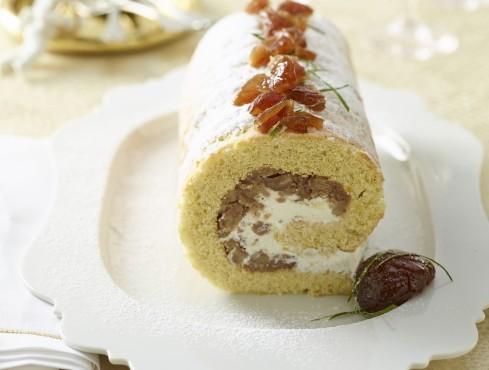 rotolo-panna-castagne ricetta Sale&Pepe