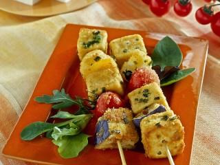 spiedini di tofu impanati Sale&Pepe ricetta