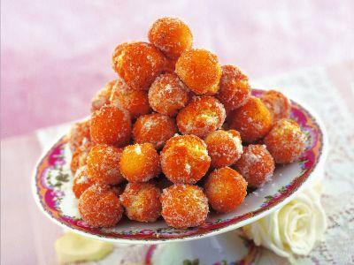 Castagnole allo zucchero