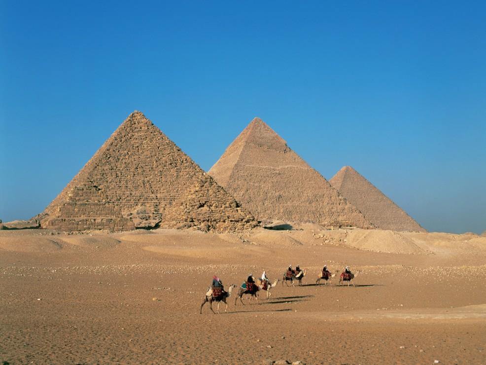Egitto, le spettacolari piramidi di Giza