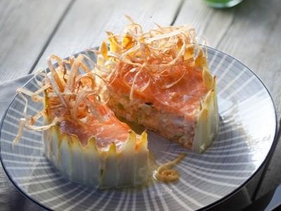 Sformato di salmone 1