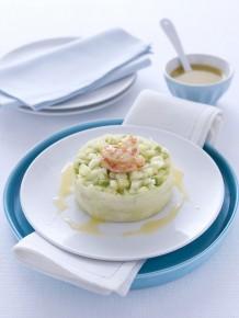 Tartare di cetrioli e avocado