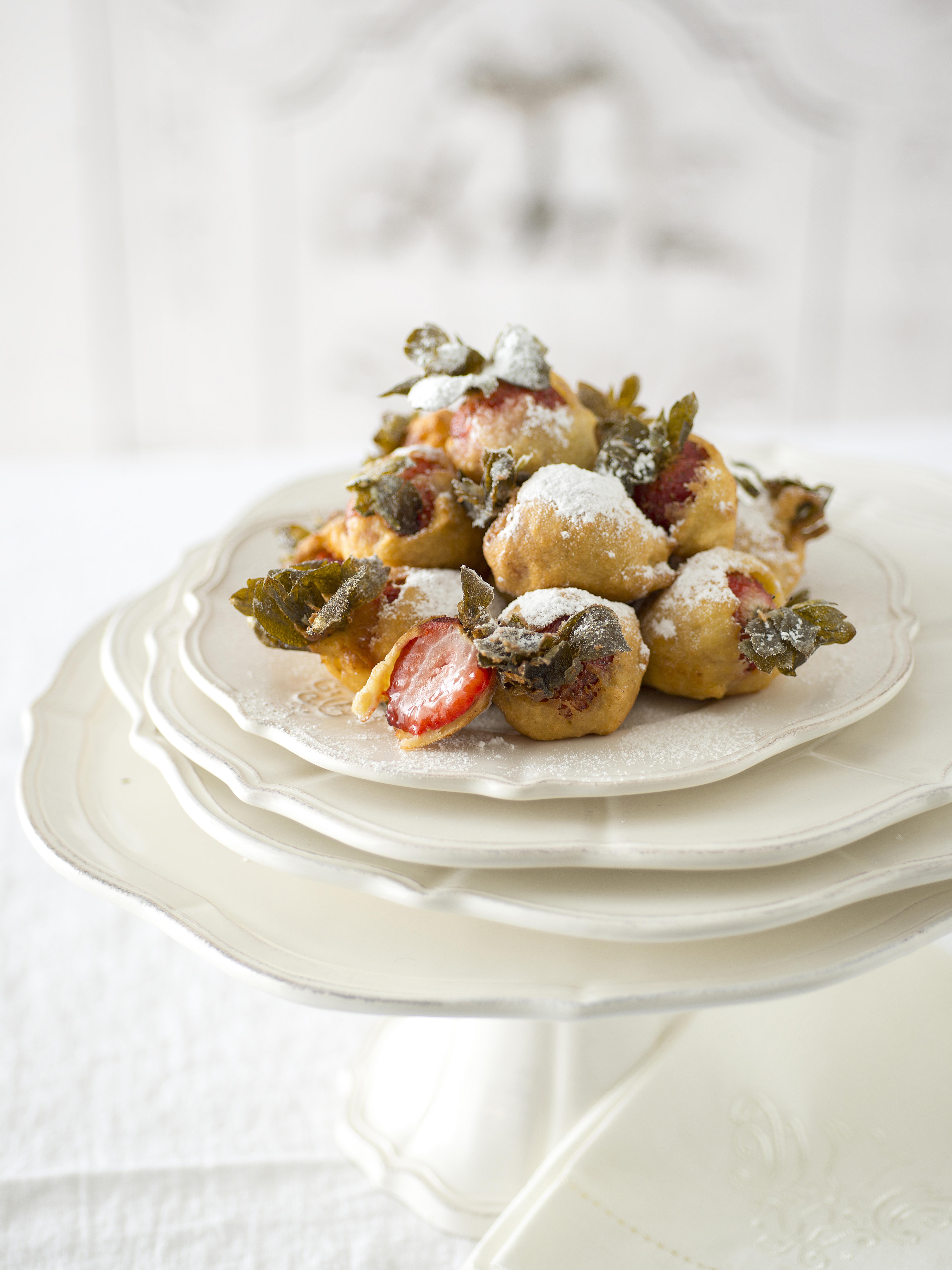 bocconcini di ricotta alle fragole ricetta