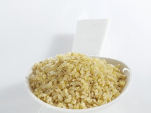 A spoonful of bulgur