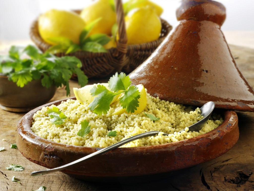 Couscous with lemon and coriander