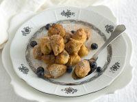 fagottini di crema alle mandorle e mirtilli Sale&Pepe ricetta
