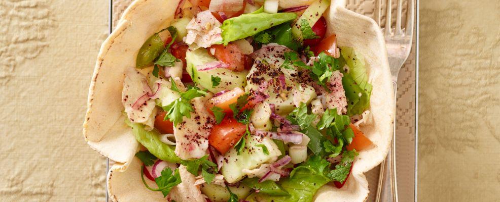 fattouch (Libano) Sale&Pepe ricetta