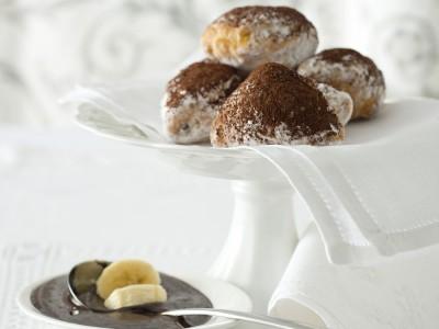 panzerottini alla banana e cioccolato ricetta