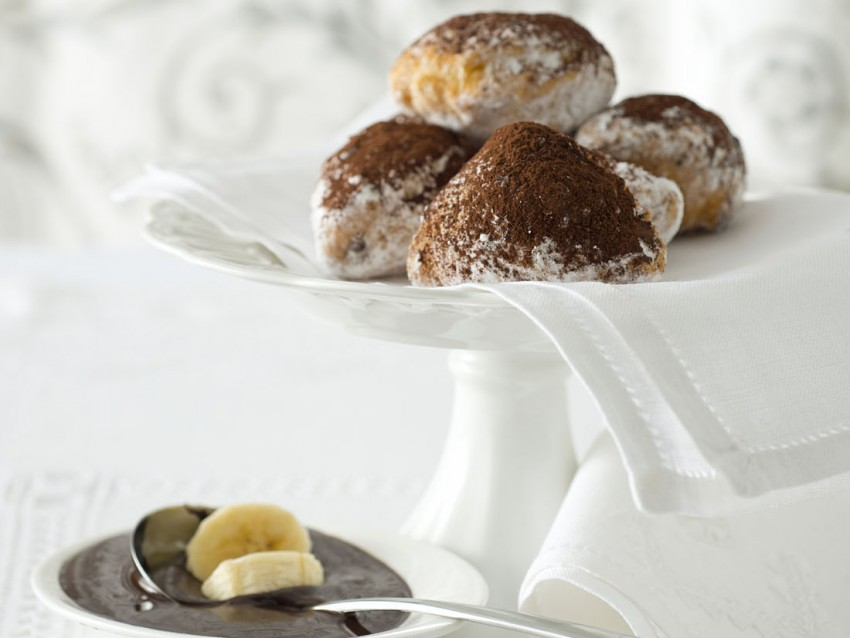 panzerottini alla banana e cioccolato Sale&Pepe ricetta