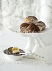 Panzerottini alla banana e cioccolato