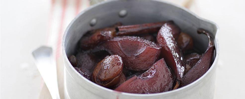 pere cotte alla cannella Sale&Pepe ricetta