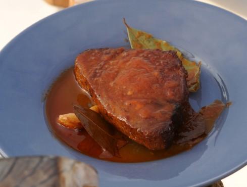 tonno arrosto alla carlofortina Sale&Pepe ricetta