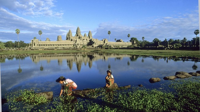 Il sito archeologico di Angkor, nella provincia di Siem Reap in Cambogia