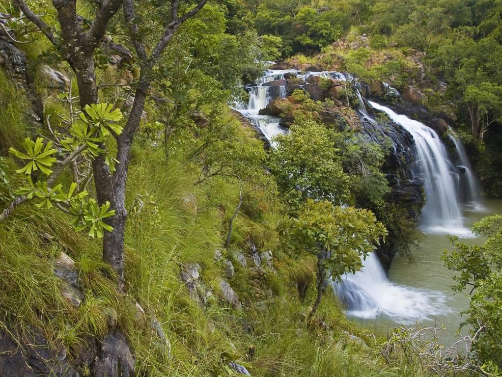 Le cascate di Kota, nella regione di Atacora. In Benin
