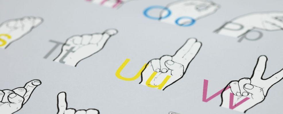 ABC of sign language