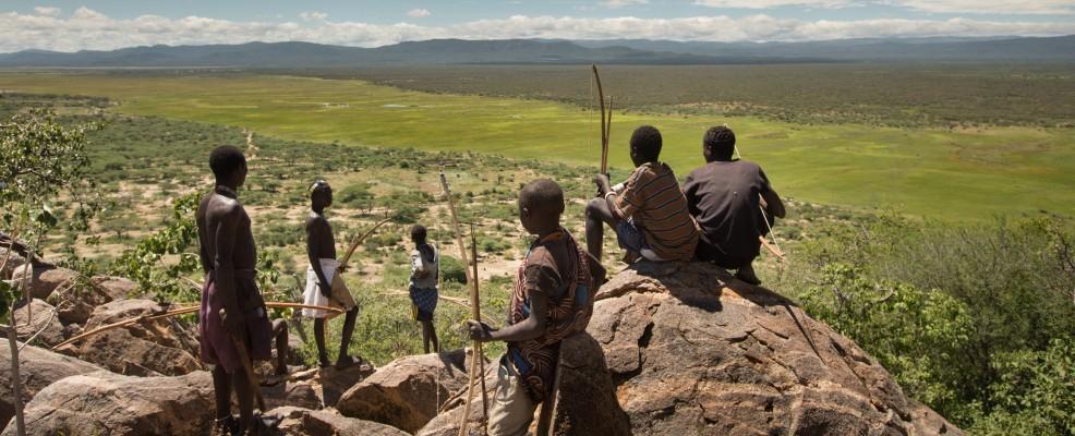 Gruppo di giovani in Tanzania