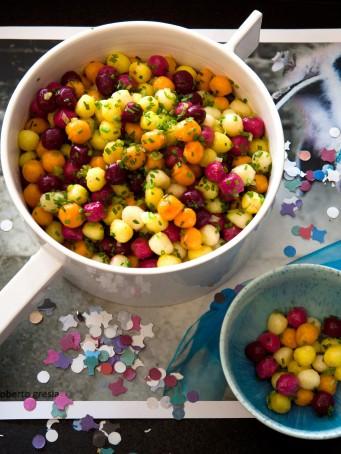 Gnocchi colorati di Carnevale