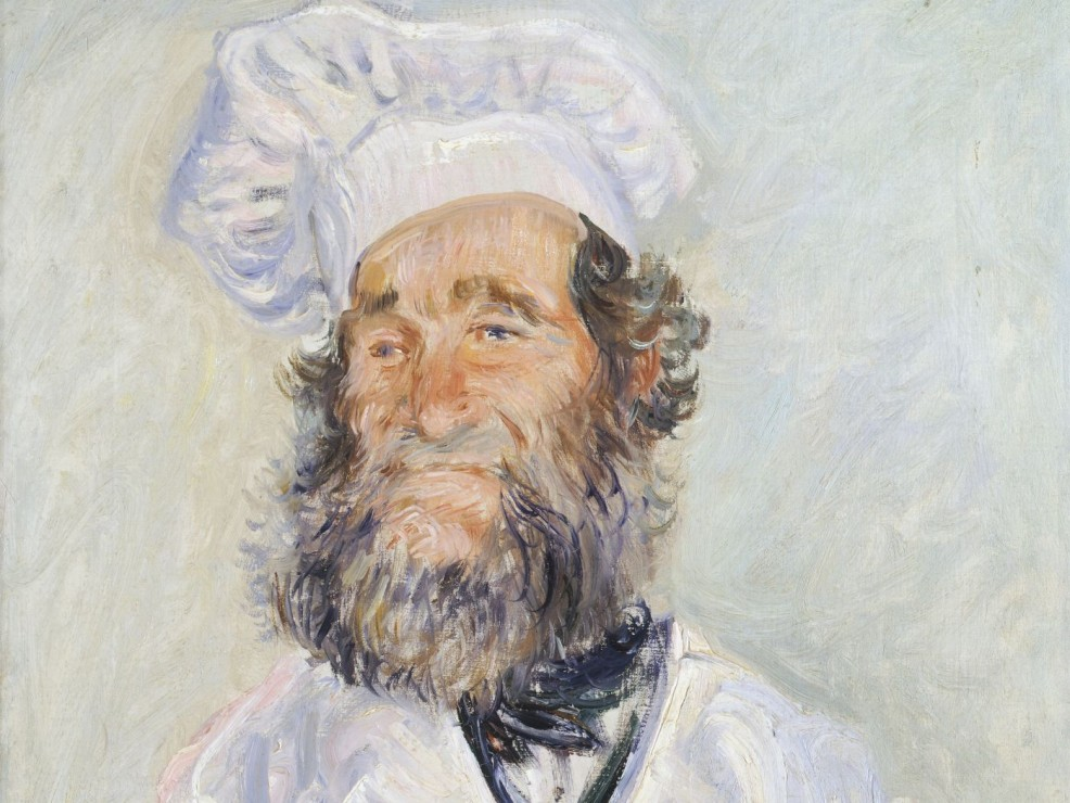 Claude Monet, Der Koch (Le Chef Père Paul)