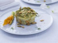 Terrina-zucchine-fiori- zucca
