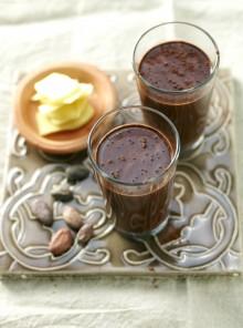 Bebida de cacao, jengibre y miel (Cuba)