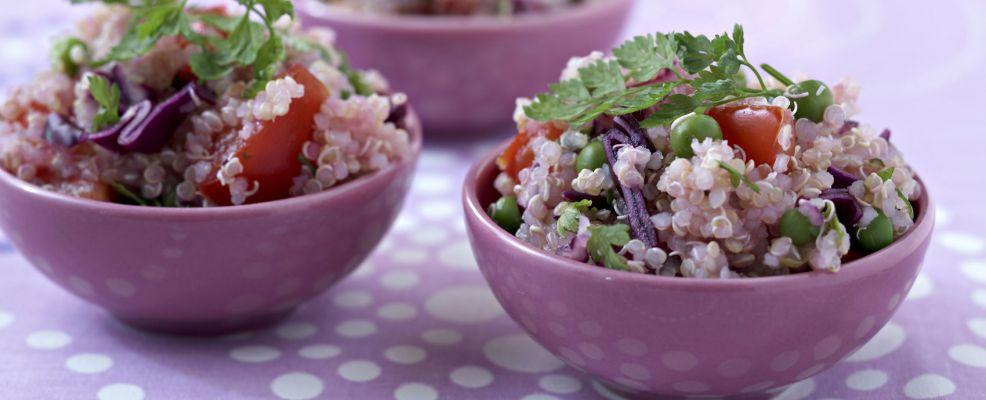Quinoa vegetables quinoa