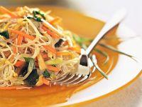 spaghetti di riso e verdure Sale&Pepe ricetta