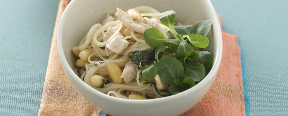 spaghetti soia spada e menta Sale&Pepe ricetta