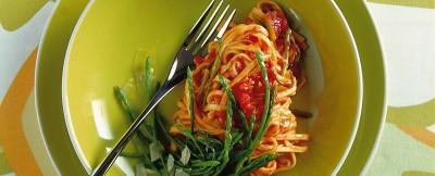tagliolini agli asparagi selvatici ricetta