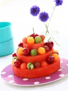 Torta Nuziale alla frutta