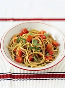 Spaghetti integrali alla rucola