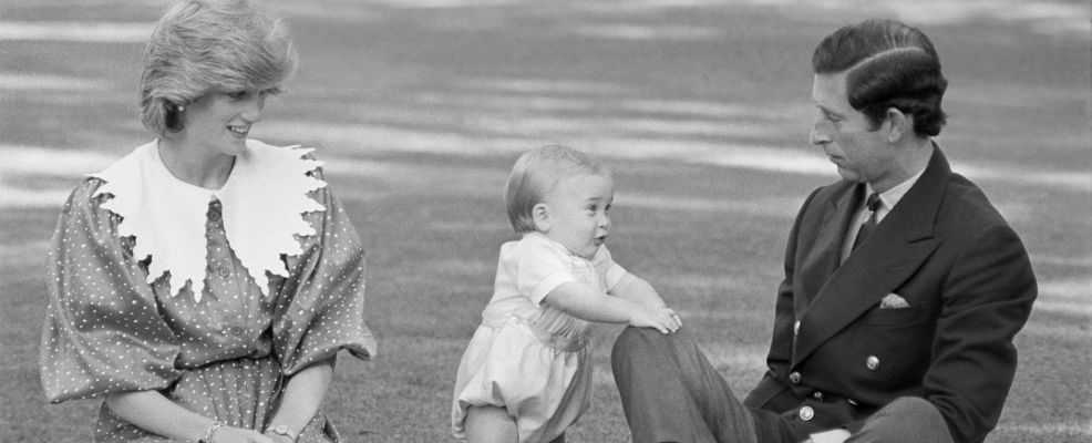 Prince William Taking First Steps in Public, with Diana and Charles
