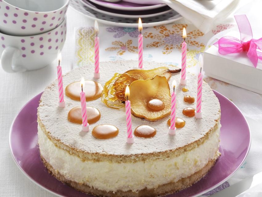 Torta biscuit con pere e mascarpone 1