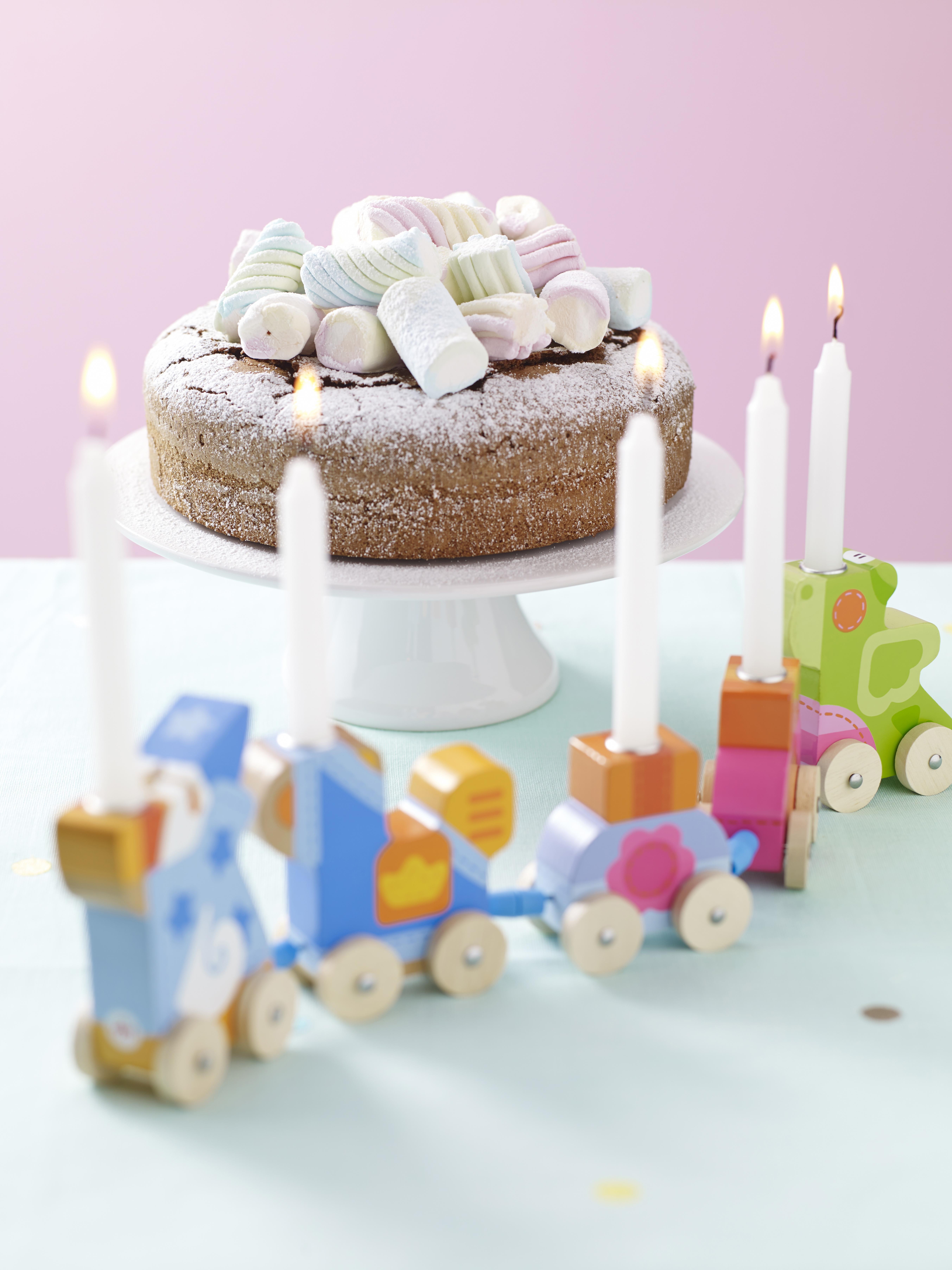 Torta di cioccolato e marshmallow