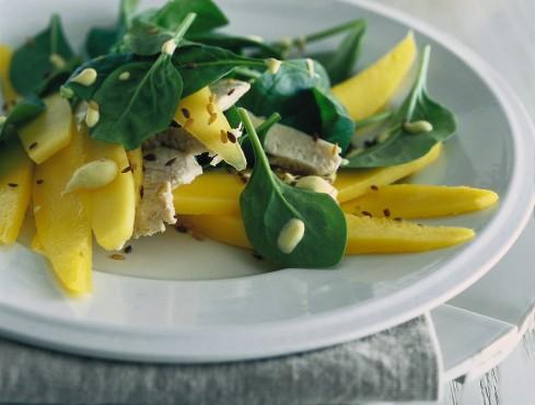insalata con il mango