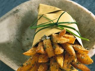 Patatine fritte alle erbe