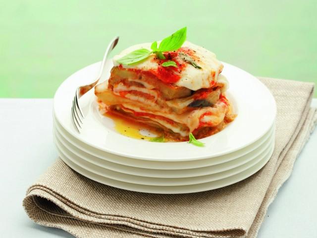 Parmigiana di melanzane al basilico