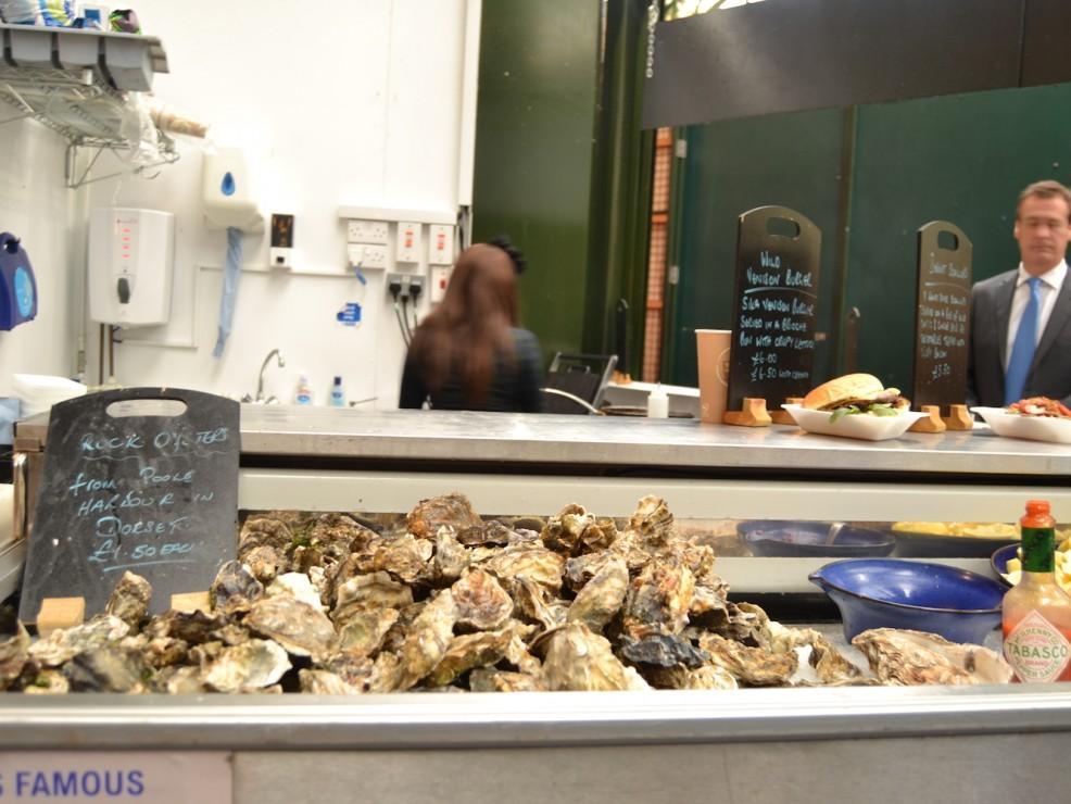 Il banco delle ostriche