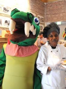 Expo: tutti pazzi per il crocoburger